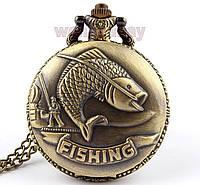 Часы карманные Fishing