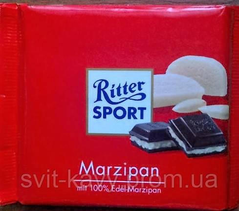 Шоколад Ritter Sport Marzipan марципан 100 g, фото 2