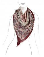 Модный платок женский 140 на 140 см в 3х цветах E16-7090 Eleganzza