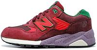 Мужские кроссовки New Balance 580 (Нью Баланс) бордовые