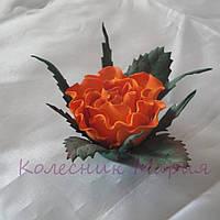 Украшение для волос Дикая роза (основа на выбор)