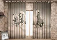 Фото шторы Лошади