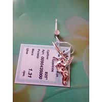 Серебряный кулон, подвес в виде ангела, фото 1