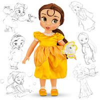 Кукла красавица принцесса Белль Дисней Аниматорс Disney Animators Bellе