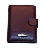 Кошелек бумажник Tailian T-227-12H09-B мужской кожаный коричневый