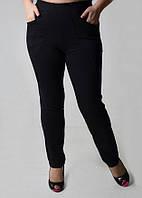 Молодежные женские брюки из трикотажа 1301
