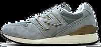 Мужские кроссовки New Balance 996 Grey (Нью Баланс) серые