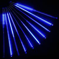 Гирлянда Метеоритный дождь «Тающие Сосульки» LED, 50 СМ Синяя