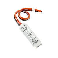 Контроллер диммер 3к RGB LED лент, 12-24В, 3x2А