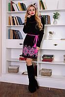 Платье женское теплое шерстяное зимнее S M L