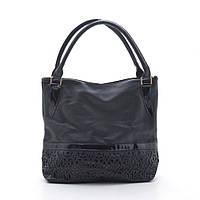 Кожаная женская сумка на каждый день. Вместительная, большая женская сумка на плече. Код: КБН128