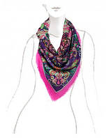Стильный платок женский 140 на 140 см в 3х цветах LSZ33-523, фото 1