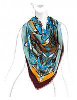 Модный платок женский 140 на 140 см в 4х цветах LSZ33-529