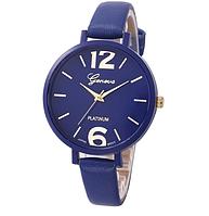 Часы наручные Женева синие арт. 067