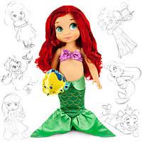 Кукла Ариэль русалка Дисней Аниматорс Disney Animators Ariel