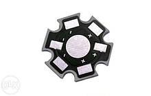 Підкладка радіатор для світлодіода 1 Вт, 3 Вт (упаковка 10шт)