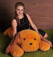 Мягкая игрушка Собака Тузик 140 см медовый №4, Т3-26(игрушка щенок)