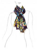 Оригинальный палантин женский в 4х цветах LSZ33-528