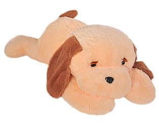 Мягкая игрушка: Собака Тузик, 50 см, Персиковый