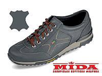 Утепленные кожаные кроссовки МИДА 12068(4) 42
