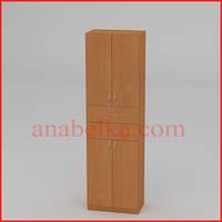 Шкаф распашной с ящиками   КШ-11 (Компанит)