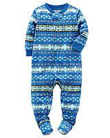 Пижама слип Carters микрофлис; 2 года