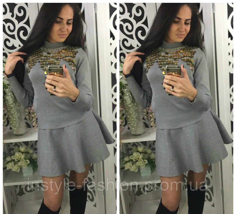 юбка и кофта костюм фото