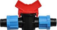 Миникран проходной Лента-лента  16 мм, капельное орошение