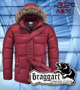 Теплая куртка мех мужская