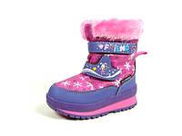 Детская зимняя обувь термо-ботинки B&G: R161-3207