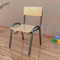 Стулья для детских садиков с сидением и спинкой из фанеры БАЛУ ПФ