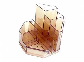 Подставки для ручек Спектр ПН-3д прозрачный 8 отделений проз. пласт.
