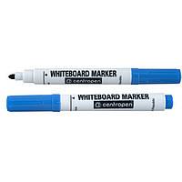 "Маркер для досок Centropen 8559 синий 2,5мм пулевидный""Board"""