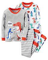 Комплект пижам Carters из 4-ех единиц; 2, 3 года