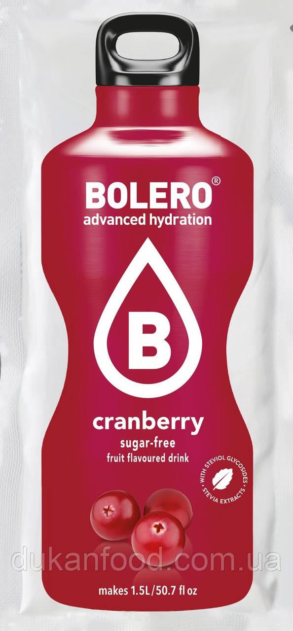 Bolero Drinks без сахара КЛЮКВА