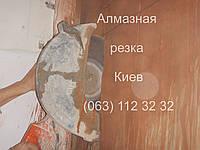 Алмазная резка резчиками стен перекрытий