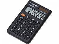 Калькуляторы карманные Citizen SLD-200N черный 8 разряд, 61х97,5х12, ПВХ обклад, пласт кн