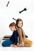 Уютный джемпер из шерсти Merino для деток от 2 до 3 лет Кремовый