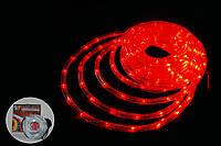 Дюралайт, светодиодный дюралайт, LED 10 м Red