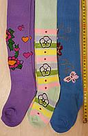 Детские махровые колготки на девочку 104-116