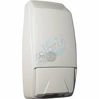Дозаторы для мыла Солярис 84 белый кнопочн 111х87х231 V-0,75л