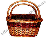 Набор плетеных корзин из 2 шт, фото 1