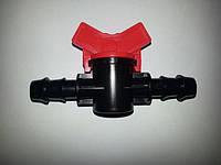 Миникран проходной зубчатый Ǿ 16 ChinaDrip, капельное орошение