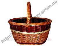 Набор корзин из лозы 2 шт, фото 1
