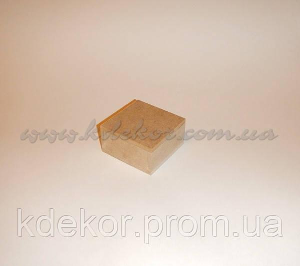 Скринька заготівля для декупажу (8см. х8см.х4см.)