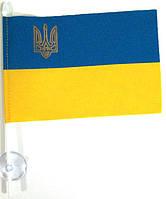 Флажек настольный П2Навт 10х15 Украины (нейлон) на присоске