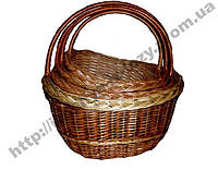 "Набор плетених корзин из 4шт ""Японка"""