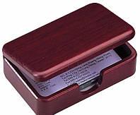 Подставка под визитки Bestar 1315WDM дерев. контейнер красн.дер 120х76х35мм