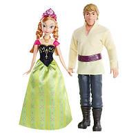 Анна и Кристофф из Холодного сердца Весна Frozen Mattel