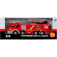 Игровой набор Big Motors Пожарная машина с лестницей (SY732)
